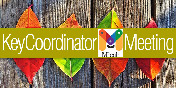 Sign Up Now: Key Coordinators Meeting